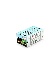 Xinyuanyang® S-10-5 5V 2A Power Supply Transformer for LED Light Bulb - Silver (AC 110-220V)