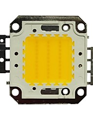 JIAWEN® 30W 2400-2700LM 3000K Warm White LED Chip (DC 30-33V)