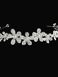 Tipo de flor liga com tiaras de casamento / headbands