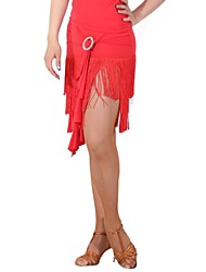 Dancewear Women's Chinlon Latin Dance Skirt (More Colors)