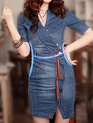 Women's Denim Dress