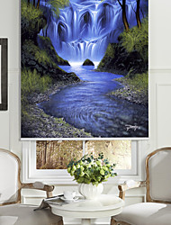 huile style de peinture réaliste montagne rouleau compresseur ombre