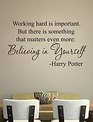 JiuBai™  Quote Art Wall Sticker Wall Decal