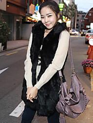 Nina Women's Big Size Winter Hoodie Vest 4