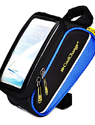 COOLCHANGE Blue 600D Portable MTB Cycling Frame Bag Top Tube Bag