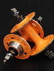 Alied 32 Holes Orange Bearing Fixed Gear Front and Rear Hub