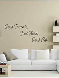 decalque da parede adesivo de parede jiubai ™ citações da vida