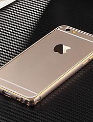 Ultra Slim Aluminum Alloy Bumper Frame Cover for iPhone 6s 6 Plus