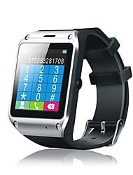 """1,54 """"montre 2g téléphone (le podomètre, quadri-bande, bt 3.0, seule carte SIM normale, caméra 2MP, suivi du sommeil) de diweinuo"""