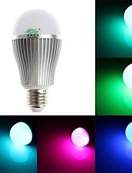 zweihnder e27 6w 800lm 6000-6500k 2.4ghz transmissão rf luz lâmpada led rgb sem controle remoto (AC 85-265V)
