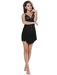 Women Chemises & Gowns Nightwear , Elastic/Nylon/Spandex