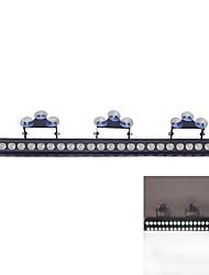 24 LED 3W Emergency Windshield Strobe Lightbar Car Styling LightBar(Optional Colors)