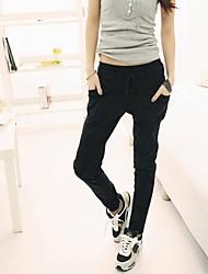 Zian® Women's Casual Fashion Big Pockets Slim Waist Haroun Pants