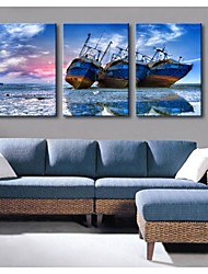 Personalized Canvas Print Stretched Canvas Art Boat 35x50cm  40x60cm  50x70cm  Gallery Wrapped Art of 3