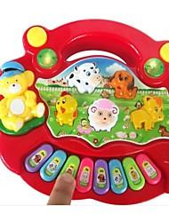 animal de fazenda do bebê iluminação brinquedos órgão eletrônico educacionais
