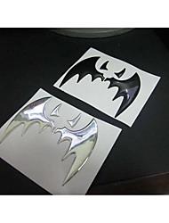 Soft Personality Bat Car Flag Sticker.
