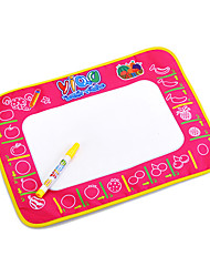 38*48*2cm Kids' Aquadoodle Water Drawing Board Magic Pen Novelty Toys with Paintings of Fruit(Box Package)