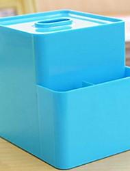 caixa de armazenamento de detritos criativo tecido sólido versátil