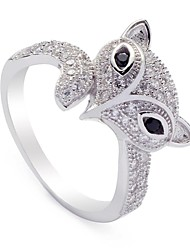 Fashion 925 Sterling Silver Cubic Zirconia Ring