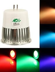 rgb licht LED lamp met afstandsbediening - zilver wit (AC90 ~ 260V) 300lm 5w mr16