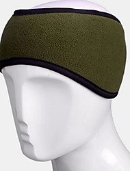 Sport Sweat Headbands Thermal / Warm Dark Green Free Size Cycling/Bike