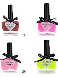 1pcs bonbons de couleur de vernis à ongles dentelle papillon bouteille NO.1-4 (de couleurs assorties)