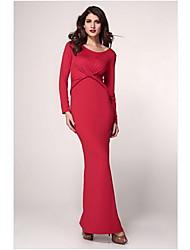 Женская Макси платье с Twist деталях