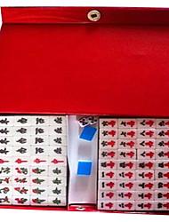 16 milímetros mini-portátil acrílico brinquedos viagem mahjong