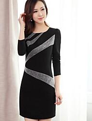 Ygr женщин Кореи Bodycon оболочка сексуальная Bodycon платье