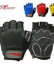 Aidy ao ar livre ciclismo luvas de dedos curtos b-1201
