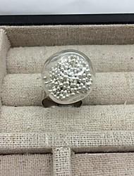 Elegent очереди серебряные пески сплав Женская рождественская кольцо