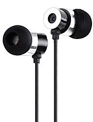 yafox® headphones dt-m44 de ouvido com um microfone headset de interface 3,5 milímetros universalphone / htc / samsung (preto / vermelho)