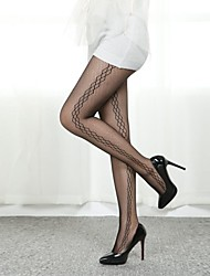 mode sexy profil jacquard de collants femmes