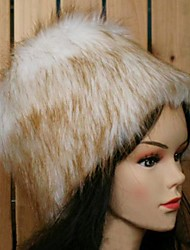 Women's Fashion Faux Fur  Winter Ski Head Warmer Warm Cap Hat