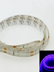 Waterproof Strip Light 100cm 3014smd 120led Blue Band 450-490nm 7.5W DC12V IP65 Waterproof Strip Light Blue