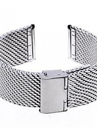 Unisex Mesh Steel Watch Band Strap 110MMx24MMx3MM Cool Watch Unique Watch
