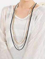 Manmen Women's Fashion Meatal Simple Necklace