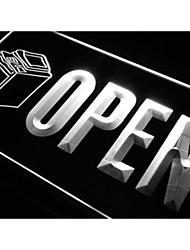 j789 OPEN Copying Copy Machine Shop Neon Light Sign