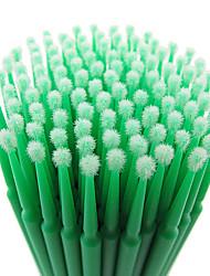 100pcs 0.20mm de alta calidad del palillo de algodón reciclable pestañas postizas / maquillaje de ojos removedor