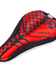 INBIKE High Elastic Fabric+GEL Red+Black Cycling Saddle Cover