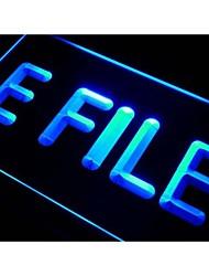 i273 efile E File Tax Service Neon Light Sign