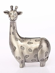 Personalized Ring Bearer Giraffe Ashbury Metal  Piggy Bank