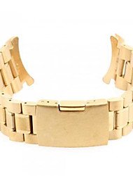 Unisex Steel Watch Band Strap 24MM (Golden)