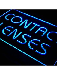i491 Contact Lenses Optical Shop Glasses Light Sign