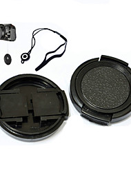 Neer 43mm Objektivdeckel für sumsung NX3000 16-50mm mit Halter Leine Gurt