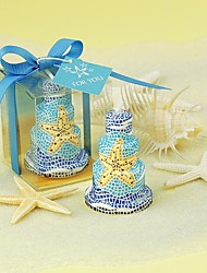 Favor Cake Candle Romantic Starfish