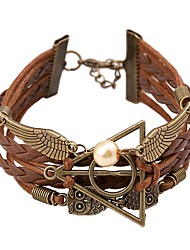 Tengfei Western Style Vintage Fashion Knitting Bracelet