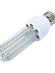 E26/E27 LED Corn Lights T 66 SMD 3014 700 lm Warm White Decorative AC 85-265 V