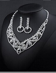 Jewelry-Necklaces / Earrings(Rhinestone)Wedding / Party Wedding Gifts