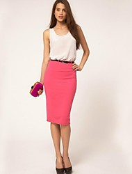 Women's All Match Elegant Fashion Slim Skirts